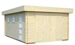 Bilde av Garasjebod Rasmus 19,0 m² med treport